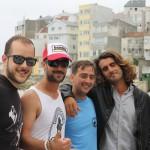 Xente do Malpica | Foto: Fer & Lili Hangten | Mayi,  Javi Taladrid, Dani Alvite & Toni Varela